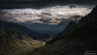 Dolomiti Clouds by Guerrini Stefano