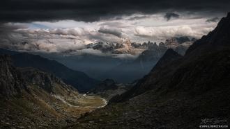 Dolomiti Clouds by Guerrini Stefano