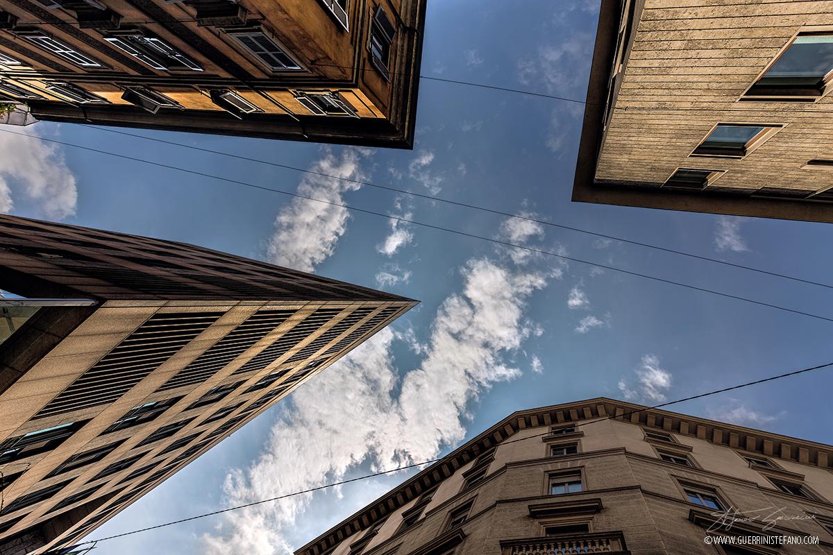 Milano buildings by Guerrini Stefano