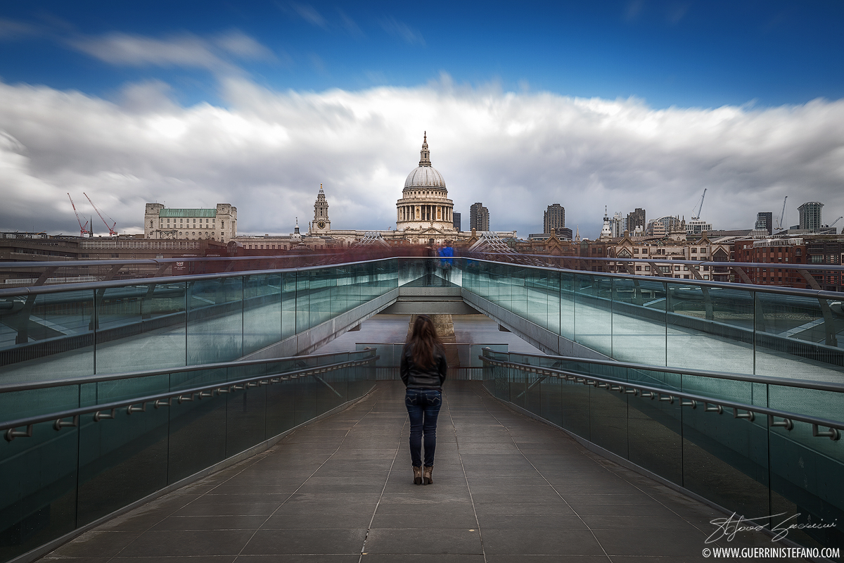 Millennium Bridge by Guerrini Stefano