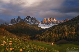 Sunset at St Giacomo Church by Guerrini Stefano