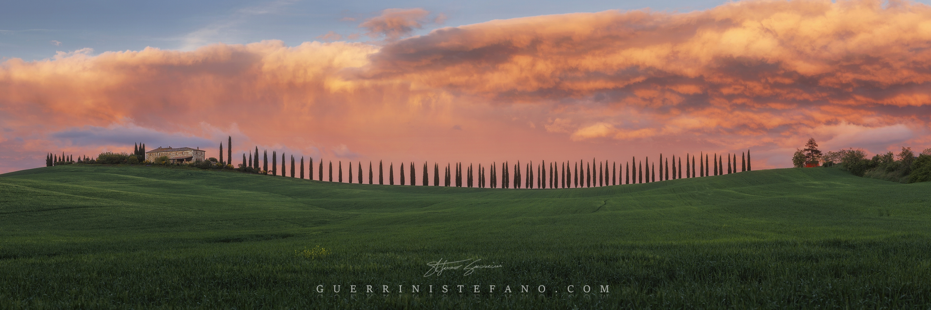 Casale val d'Orcia by Guerrini Stefano
