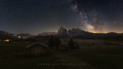 Seiser Alm Baite MilkyWay by Guerrini Stefano