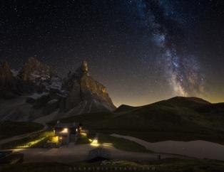 Baita Segantini Pale San Martino Trentino by Guerrini Stefano