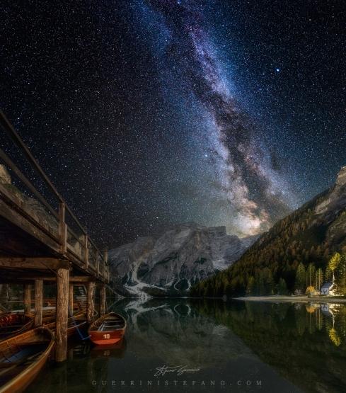 Ad un passo dal cielo - Lago di Braies by Guerrini Stefano