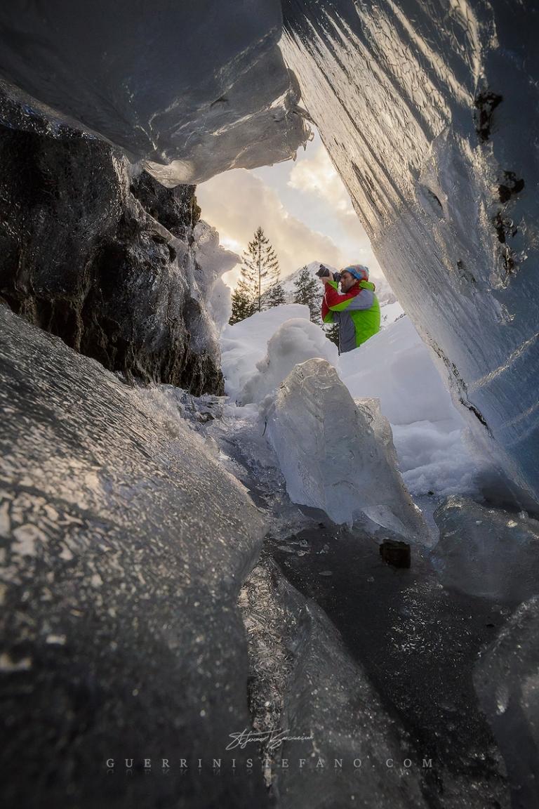 Tovel Ice Trentino by Guerrini Stefano