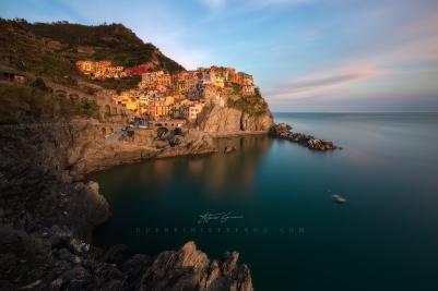 Cinque Terre Manarola by Guerrini Stefano 1600hpx