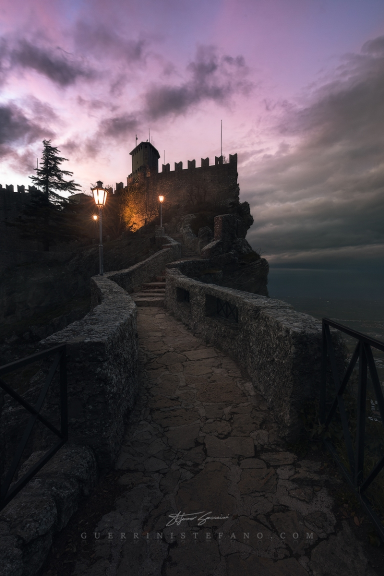 The Castle - San Marino by Guerrini Stefano