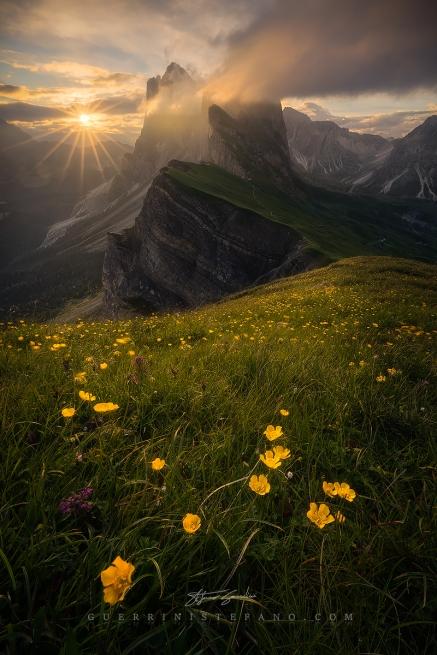 Seceda Odle Alto Adige Dolomiti Guerrini Stefano