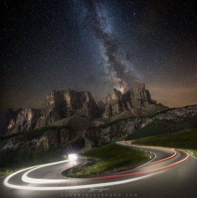 Dolomites Lights - Guerrini Stefano