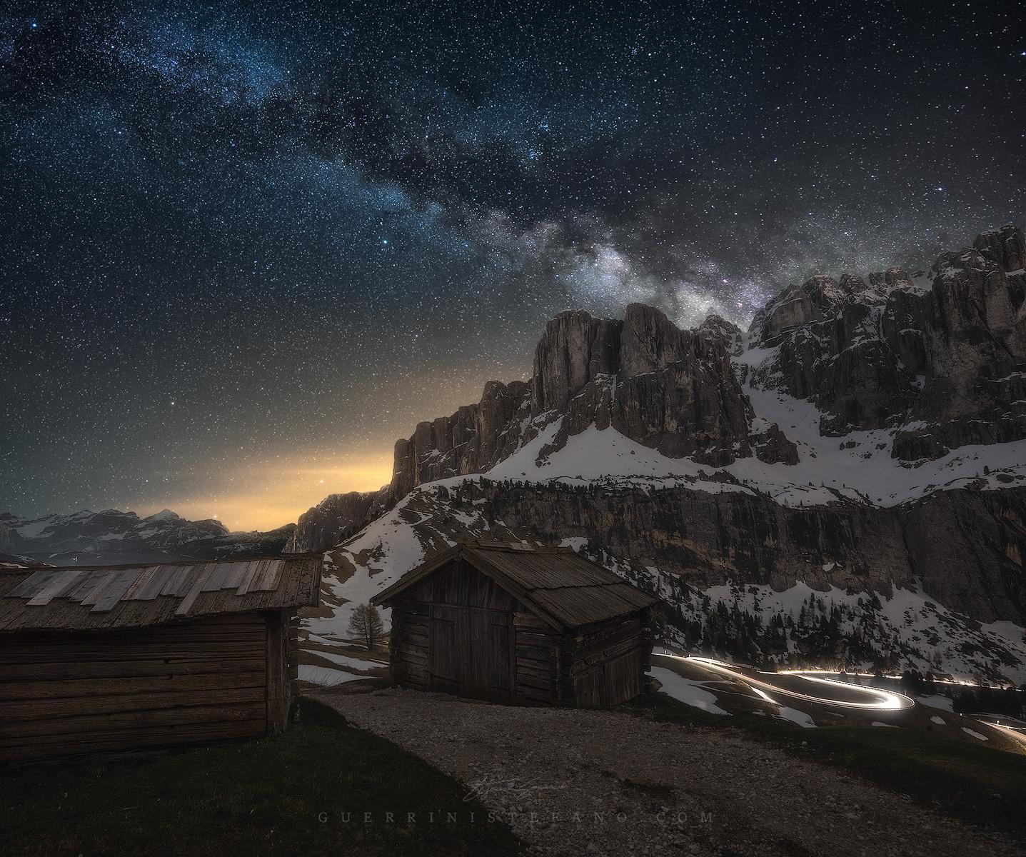 MilkyWay Huts Gardena Dolomiti Guerrini Stefano